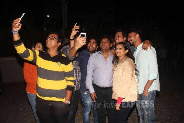 Johnny Lever, Dilwale premiere