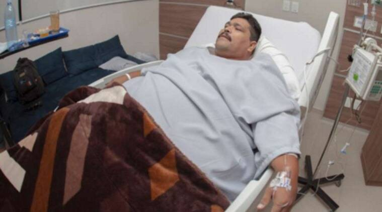 "The bariatric surgery involved removing three-fourths of Moreno's stomach and reshaping what was left into a tube to ""prevent him from eating too much. (Source: noticiasmvs.com)"