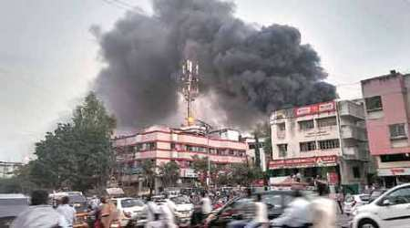 Fire accident, mattress factory, mattress factory fire, LPG cylinder, mattress godown fire, Pune news