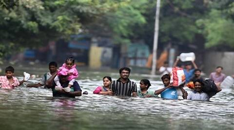 Why Chennai is flooded