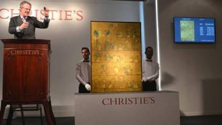 Gaitonde fetches a whopping Rs 29.30 cr at Christie's auction