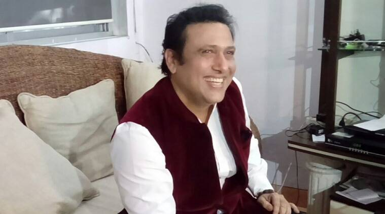 Govinda, Govinda news, Govinda actor, Govinda politics, politics Govinda, Govinda films, Govinda movies, entertainment news, indian express, indian express news