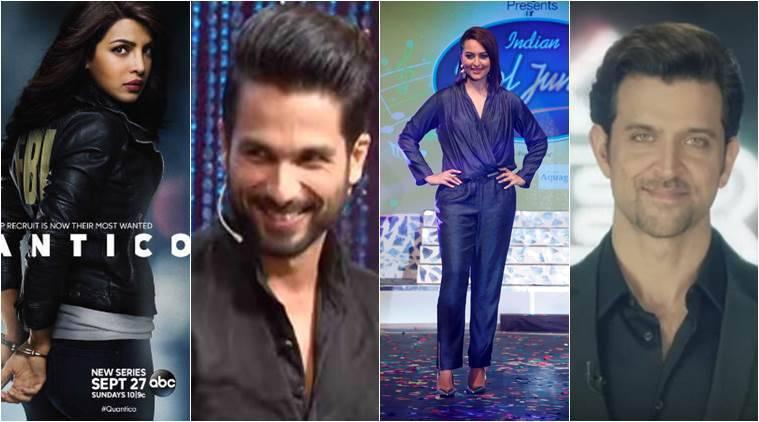 When Priyanka Chopra was busy making inroads into the international fiction TV space, a bevy of stars like Shahid Kapoor, Hrithik Roshan and Sonakshi Sinha took a plunge from the big to small screen.