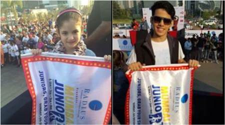Harshaali Malhotra, Darsheel Safary, Avneet Kaur add spark to Mumbai Juniorthon