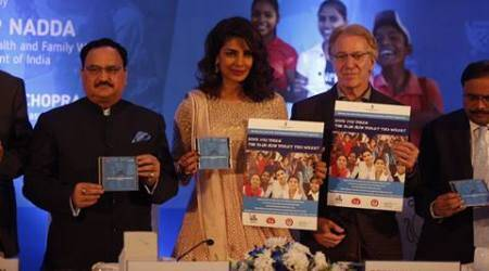 JP nadda, WIFS, health in india, healthcare india, adolescents in india, anaemia in india, priyanka chopra, anaemia adolescents india, health india news, malnutrition in india, UNICEF