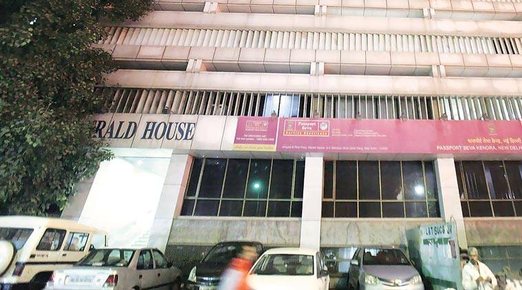 Herald House in New Delhi. Express