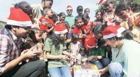 For the homeless in South Mumbai, it's a merry Christmas indeed