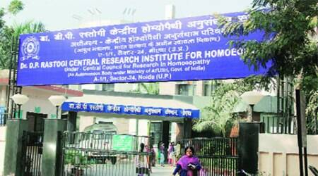 Built in 2007, homoeopathy institute in Noida is inaugurated after facelift andupgrade