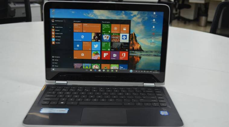 HP Pavilion x360 is a traditional Windows 10 laptop that can also transform into tablet