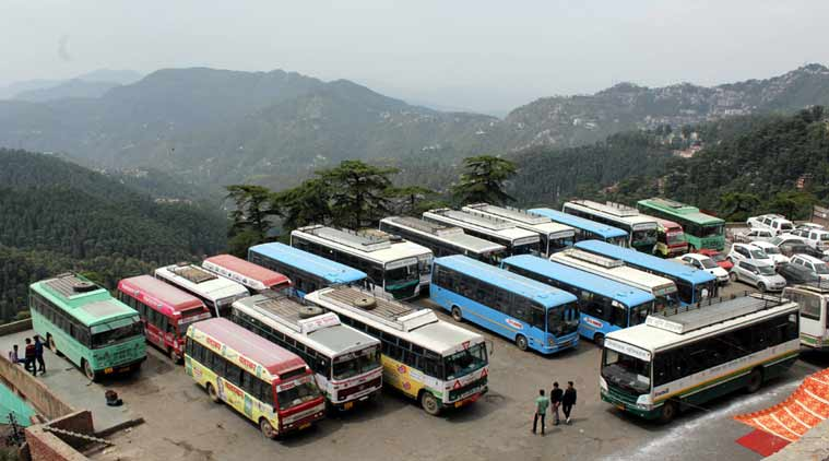 HRTC, himachal pradesh waterways, himachal pradesh news, shimla news, himachal waterways, himachal waterways transport, india news, nitin gadkari, HRTC bus