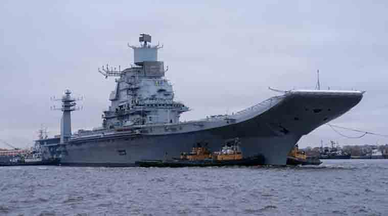 INS Vikramaditya. (Photo Courtesy: Oleg Kuleshov)