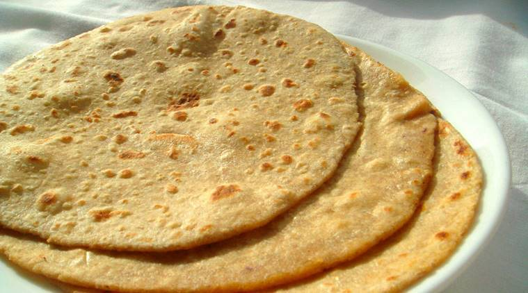 Out Of Rye Bajra And Jau Pictured Above Rotis Clock The Lowest Calorie Count