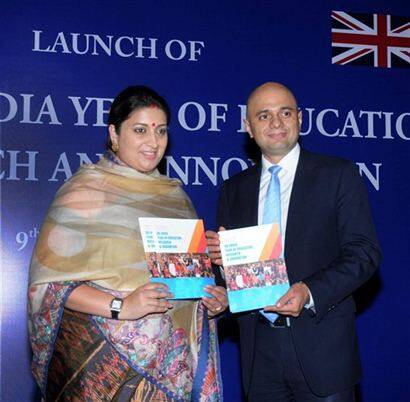 Britain is best place to study for Indians:Javid
