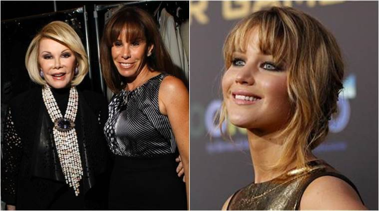 Jennifer Lawrence felt awkward meeting Melissa Rivers on the set of her new movie, following her public feud with her mother in 2013.