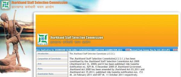 Jharkhand Staff Selection commission (JSSC) Keet Palak Exam 2015 was conducted on December 13, 2015