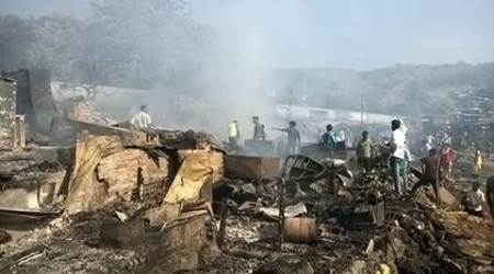 Fire at Damu Nagar slum: Survey of damage begins, relief amount tofollow