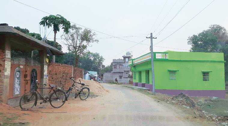 Police say the scam has led to towns in Jamtara being flush with money, fuelling a construction boom. (Source: Express photo by Deepu Sebastian Edmond)