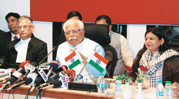 Manohar Lal Khattar, minimum education criteria, municipal body polls, panchayati raj institutions, poll contestants education, Haryana