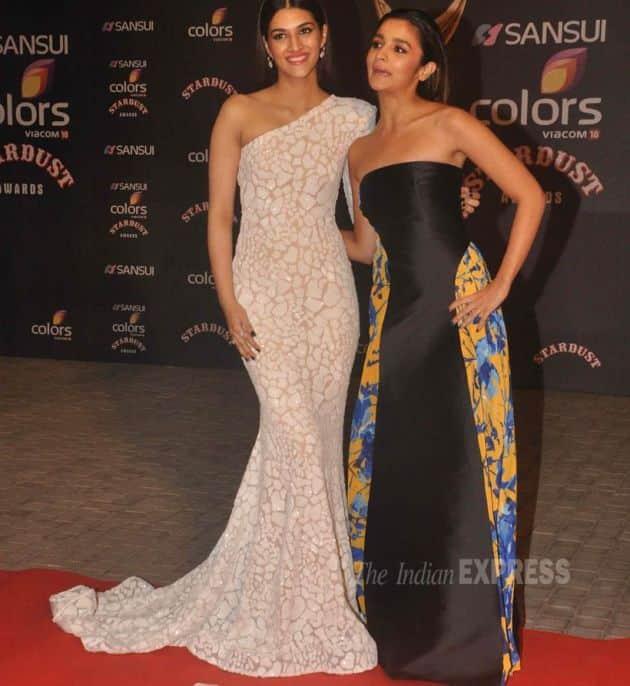 Kriti, Alia, Stardust Awards