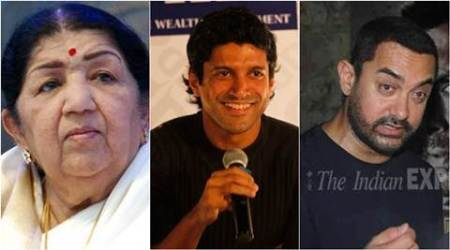On Christmas, Lata Mangeshkar, Farhan Akhtar, Aamir Khan wish happiness to all