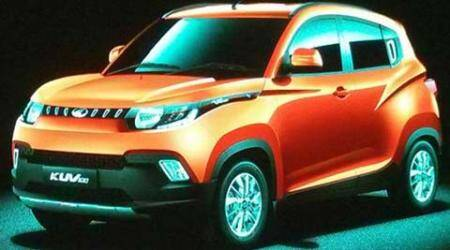 Mahindra KUV100 set to launch on January 15; to feature two all-new petrol and diesel engines