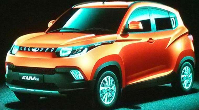 Mahindra Kuv100 Set To Launch On January 15 To Feature Two All New