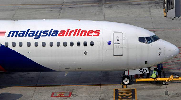Malaysian Airlines plane fly in wrong direction over sea