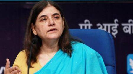 Maneka Gandhi, child beggars, child beggars india, child beggars indian street, child rights, child exploitation, NCPCR, National Commission for Protection of Child Rights, latest news, latest india news