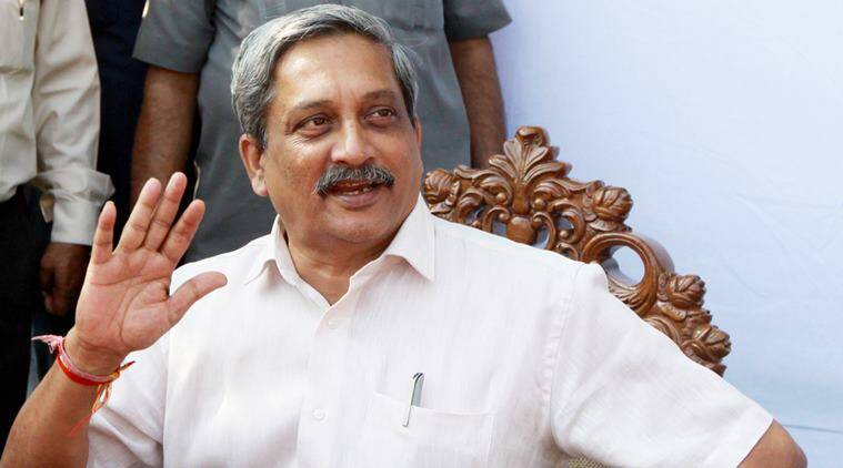 manohar parrikar, parrikar, defence minister, parrikar birthday, parrikar birthday row, goa parrikar birthday celebration, bjp parrikar birthday,ncp parrikar birthday, india news, goa news, latest news