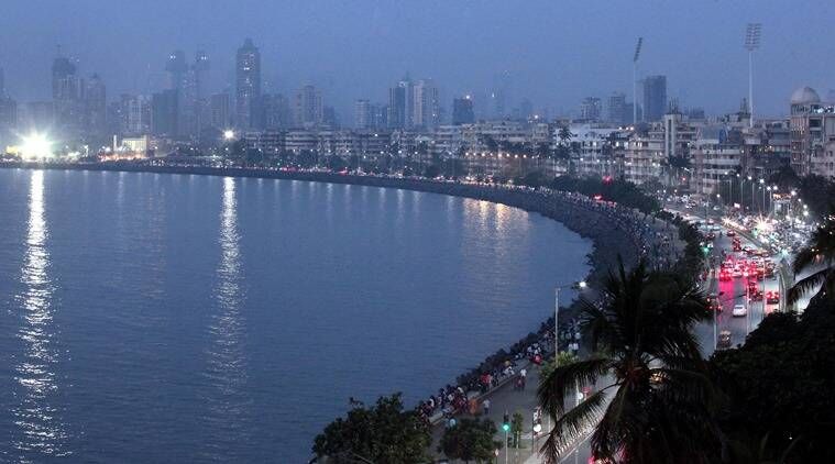 allegedly flashing in a drunk condition, at two women on the Marine Drive promenade