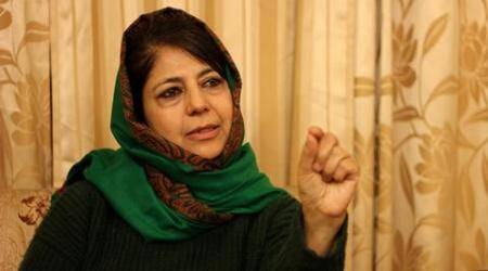 Mehbooba set to step in: why the shoes are extra large