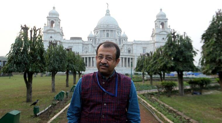 Curator Jayanta Sengupta at the Victoria Memorial Hall in Kolkata, (Photo: Subham Dutta)