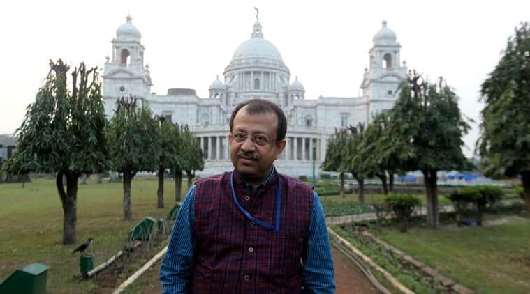 Curator Jayanta Sengupta at the Victoria Memorial Hall in Kolkata, (Photo: Subham Dutta)