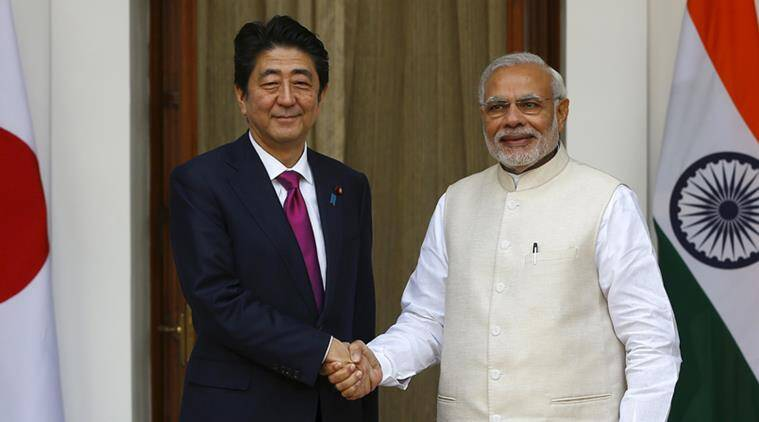 narendra modi, pm modi, modi japan visit, modi abe, india japan, india japan ties, india news