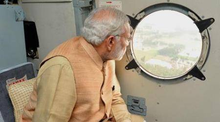 Gujarat floods: PM Modi to take aerial survey today