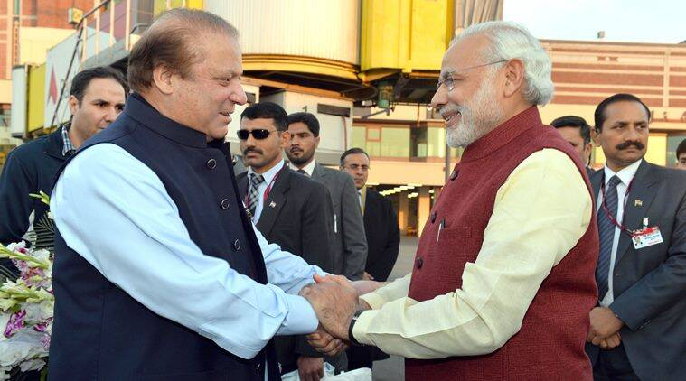 narendra modi, nawaz sharif, modi in lahore, modi sharif meeting, modi in pakistan, modi pakistan visit, modi kabul, modi kabul visit, india news, pakistan news, latest news,