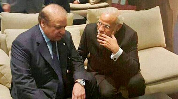 Narendra Modi, Nawaz Sharif, Paris Climate meet, India Pakistan relationship, iecolumnist, Coomi Kapoor, the indian express