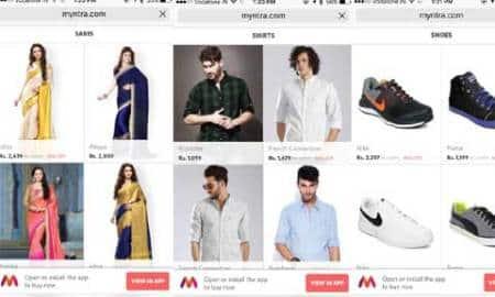 Myntra, Myntra app-only, Myntra mobile site, Myntra app-only uturn, Myntra app wapsi, Myntra website