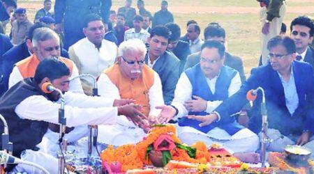 National cancer institute: Nadda sets ball rolling, thanks Khattar for 'quick'clearances