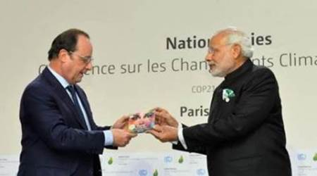Narendra Modi, Francois Hollande launch Ricky Kej's new music album in Paris