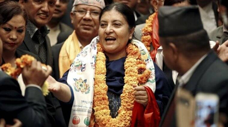 Nepal presidential election LIVE updates: Bidhya Devi Bhandari contests for secondterm