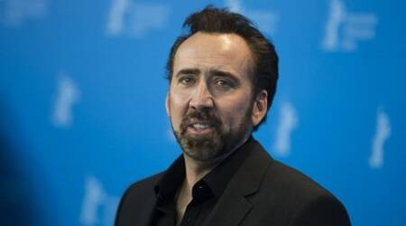 Nicolas Cage hands dinosaur skull to US government