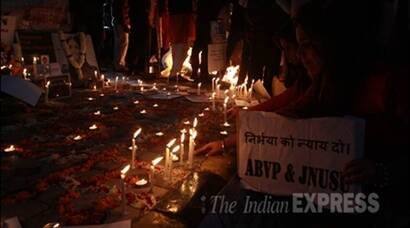 Nirbhaya, Nirbhaya tribute, Nirbhaya homage, 2012 Delhi Gang Rape, Delhi gang Rape Victim, Jyoti Singh, nirbhaya tribute at Jantar Mantar, Nirbhaya tribute in New Delhi, tribute to Nirbhaya, Nibhaya candle Light vigils, Prayer meetings