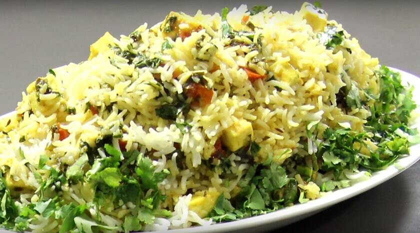 Express recipe healthy wholesome and tasty palak paneer biryani express recipe healthy wholesome and tasty palak paneer biryani the indian express forumfinder Gallery