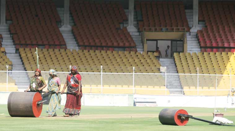 A liberal use of the heavy roller, with a rather miserly sprinkling of water can make a pitch a batting paradise.