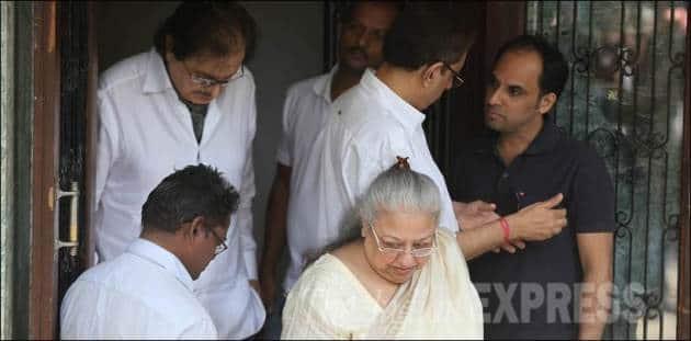 Sanjay Khan, Sadhana, Sadhana Death, Sadhana Funeral