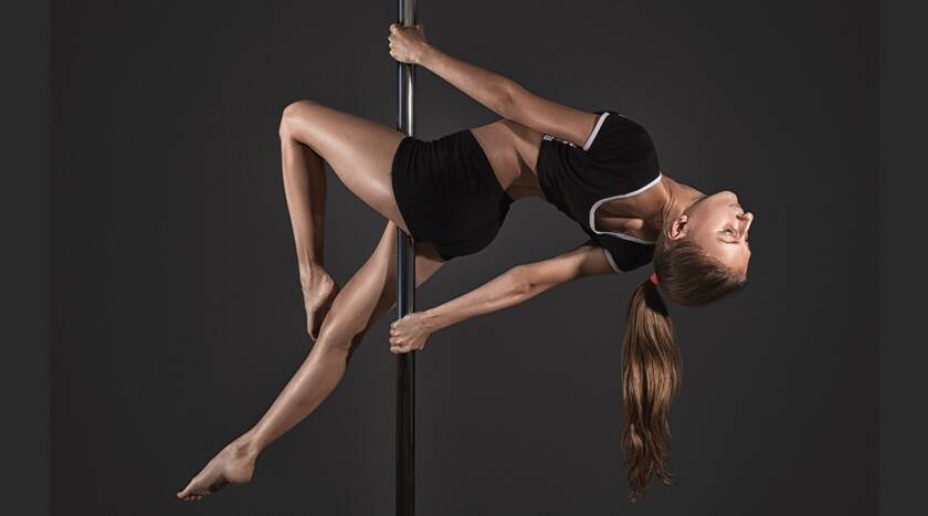 Get kicking and awesome: Try out these pole fitness exercises to reduce weight 1