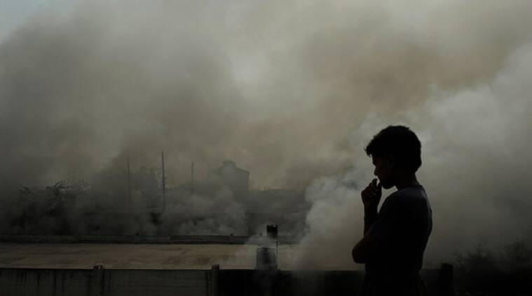 air pollution, pollution, asthma, lung disease, heart disease, strokes, impairs cognitive function, 2015 World Health Assembly, Climate Change, indian express columns