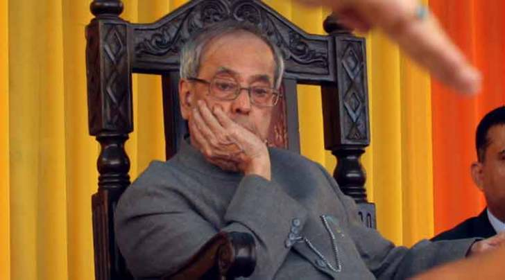pranab mukherjee, parliament winter session