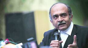 Prashant Bhushan Invites Kejriwal To Debate Delhi Jan Lokpal